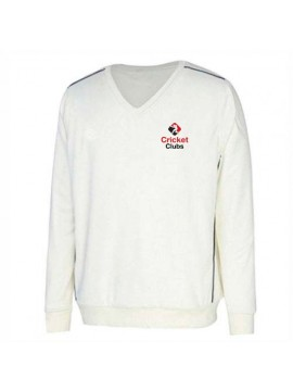 Cricket Full Sleeve Sweater White